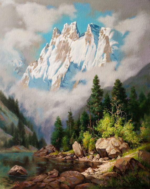 Mountain lake - Oleg Khoroshilov