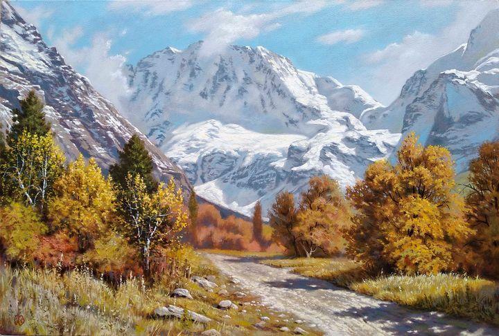 The road to Ullu-Tau - Oleg Khoroshilov
