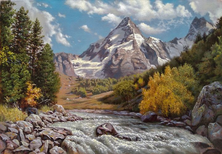 Adil-Su gorge - Oleg Khoroshilov