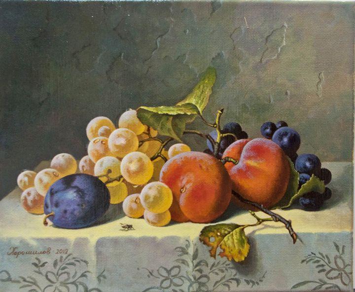 The peaches - Oleg Khoroshilov