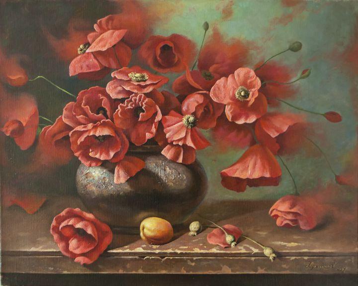 Poppies - Oleg Khoroshilov