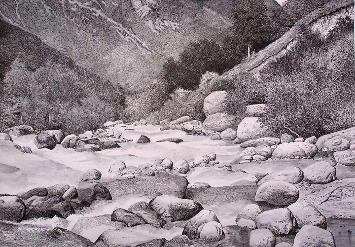 The Adil-Su river - Oleg Khoroshilov