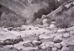 The Adil-Su river