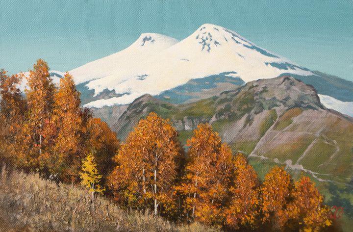 The view of Elbrus - Oleg Khoroshilov