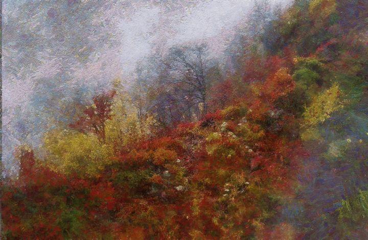 Foggy day - Oleg Khoroshilov