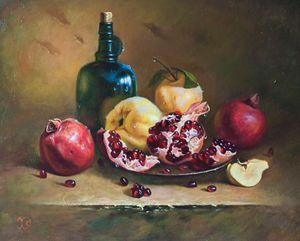 Quinces and Pomegranates - Oleg Khoroshilov