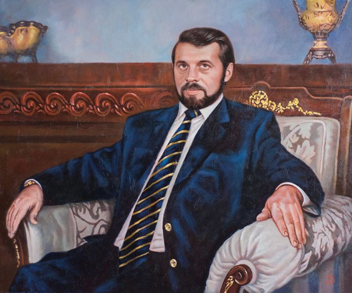 A man portrait - Oleg Khoroshilov
