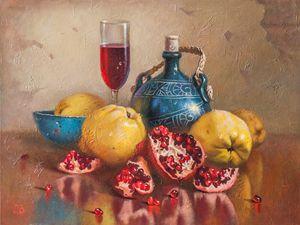 Stil lIfe with the jar - Oleg Khoroshilov