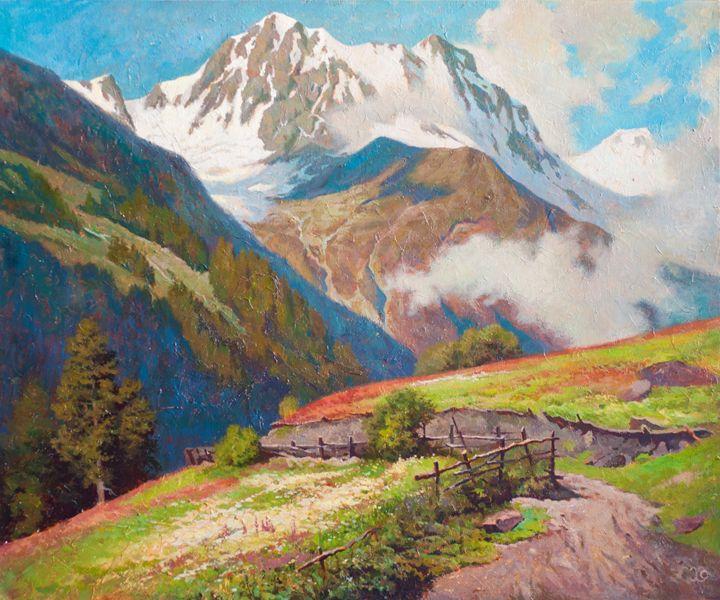 Mountain trail - Oleg Khoroshilov