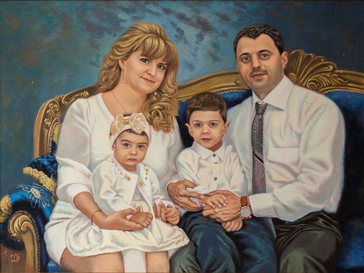 Portrait of the family - Oleg Khoroshilov