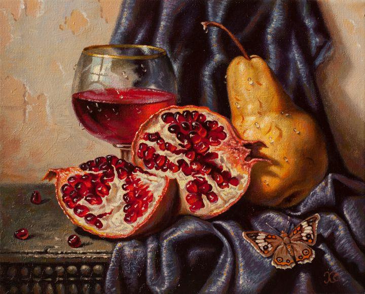 Pomegranates - Oleg Khoroshilov