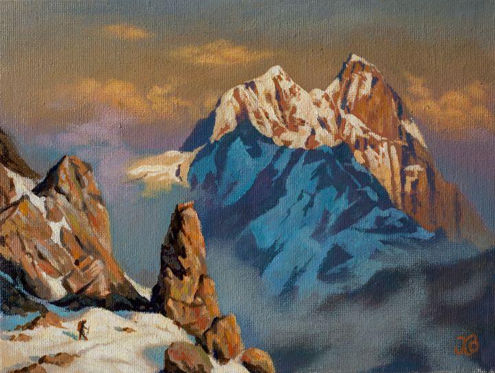 Mt. Ushba - Oleg Khoroshilov