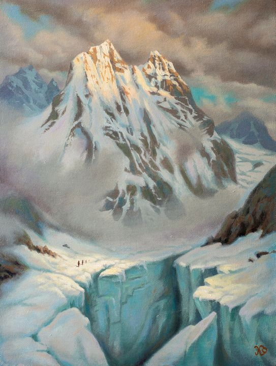 Climbing Mt. Ushba - Oleg Khoroshilov