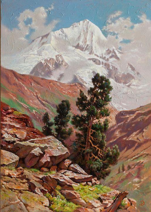 Mountain landscape - Oleg Khoroshilov