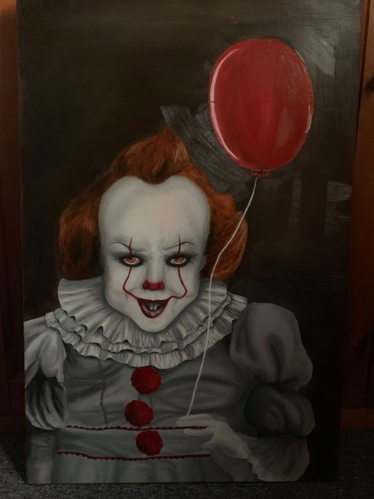 We all float down here - ngrzesik art