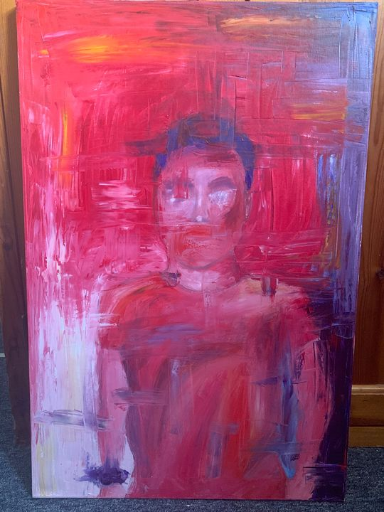 Living pink - ngrzesik art