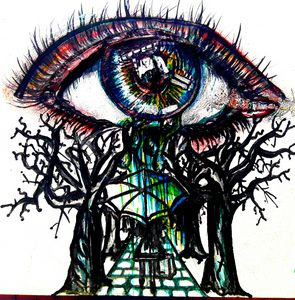 Eye Cry - Brushstrokes by Brittany
