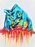 Fishadelic Orignal Painting