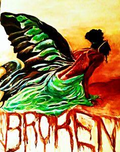 Broken - Brushstrokes by Brittany