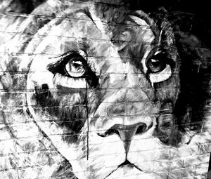 Imperfect but Perfect (Leo Lion) - Brushstrokes by Brittany