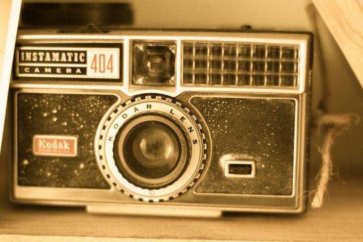Vintage camera photo - sophie's gallery