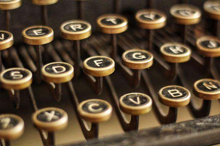 Typewriter Keys - sophie's gallery