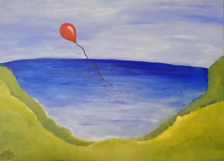 red ballon - Zerlinda