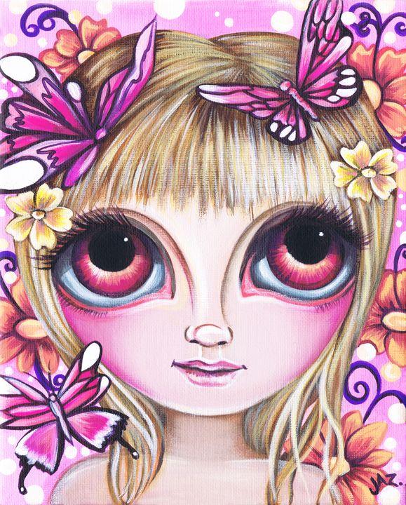 Flutters of Pink - Jaz Higgins
