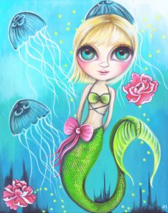 Jelly Rose Mermaid