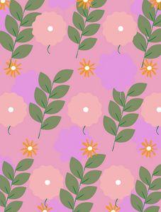 Aster   Blooms Mini Art Print