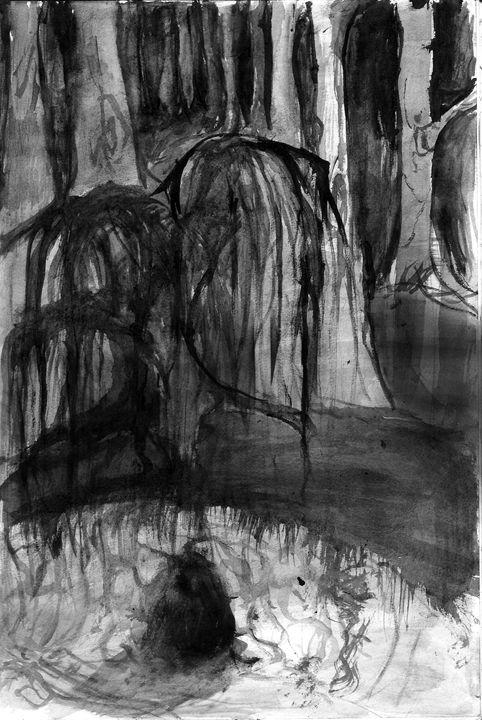 forest cave - Nattz Art