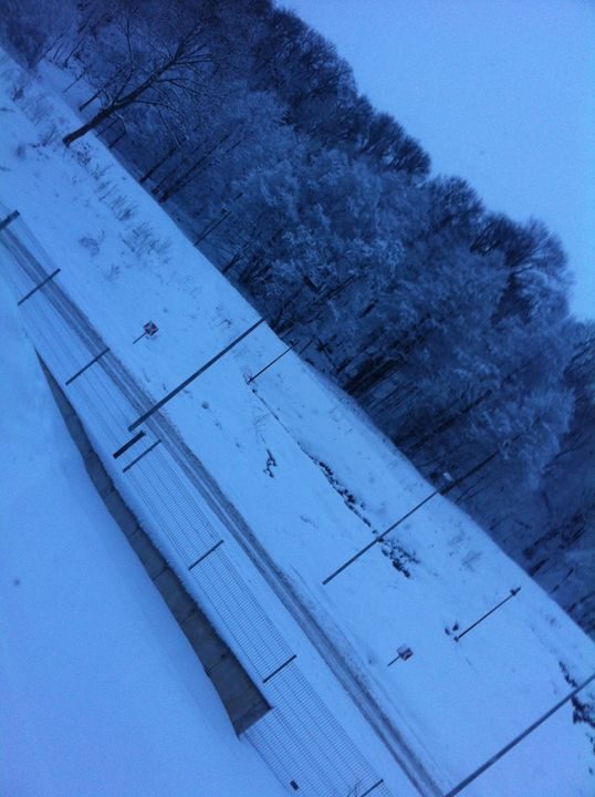 Snow Field - biccsworldArt
