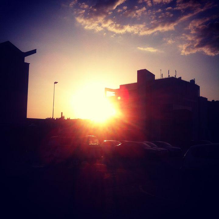 Sunrise Tallinn - biccsworldArt