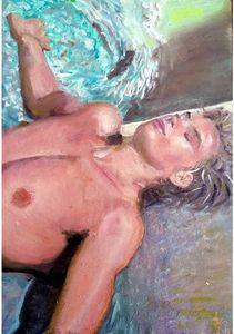 """'Sérenité"""" Peinture à l'huile"""