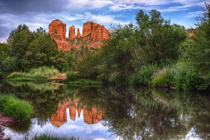 Cathedral Rock Reflection - Foto Safari