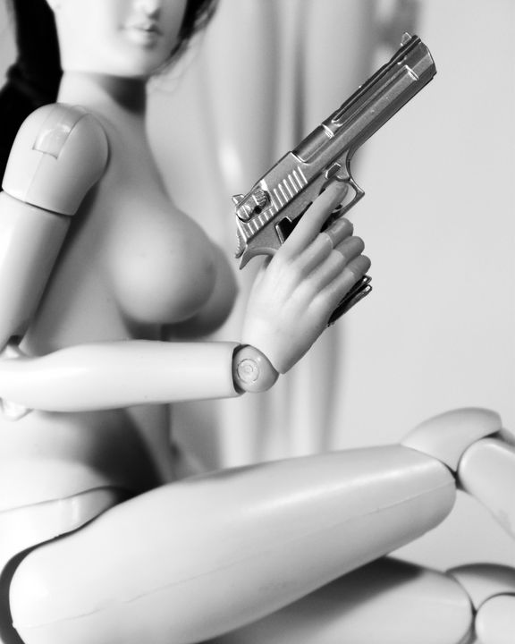 Try Me - Dolls with Guns