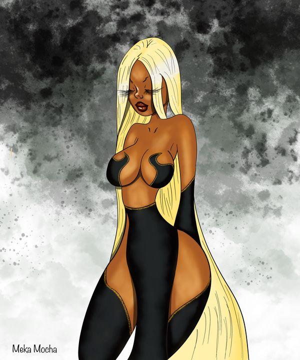 Ebony Goddess - StormArtist