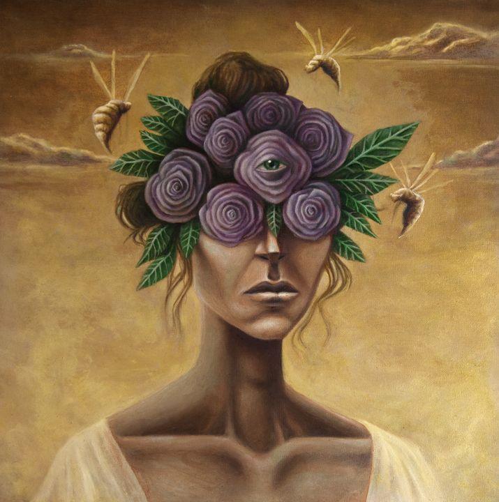 Beauty of the Mind - Bret Salvatore Art
