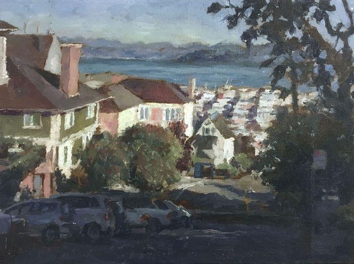SF hill and city - Alinea Light