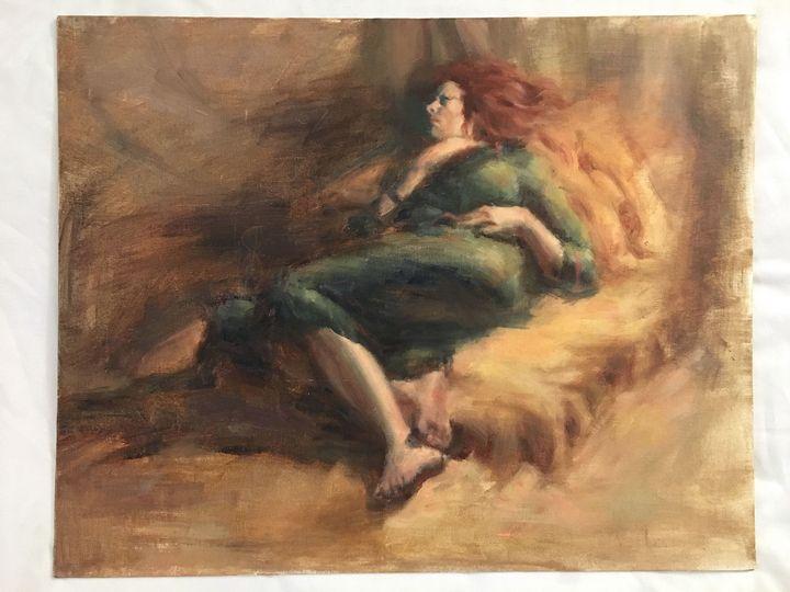 Sleeping Woman - Alinea Light