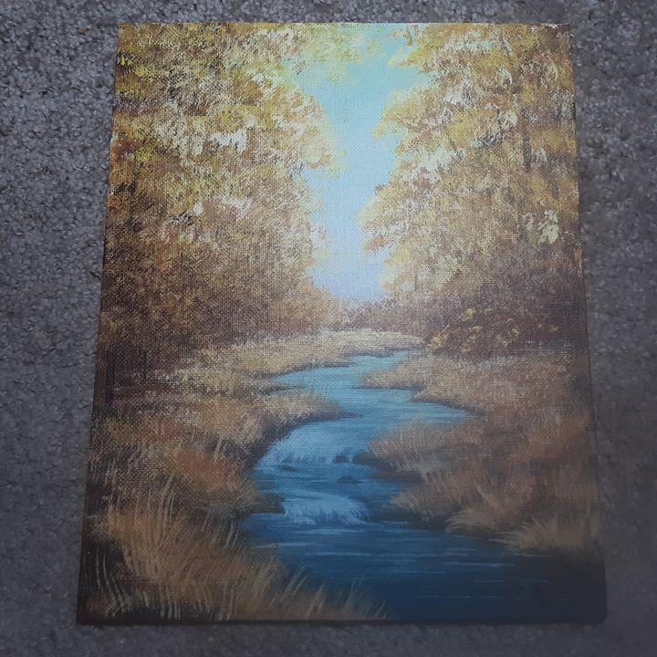Golden meadow - D. Stenstrom
