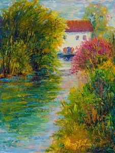 Follow the River Home - Nancy Gregg Fine Art
