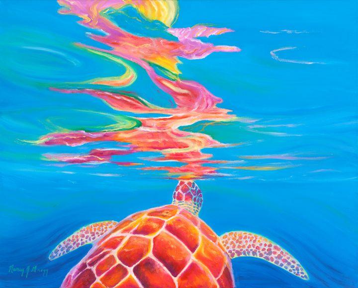 Make Your Own Rainbow - Nancy Gregg Fine Art