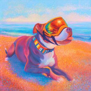 Hot Dog - Nancy Gregg Fine Art