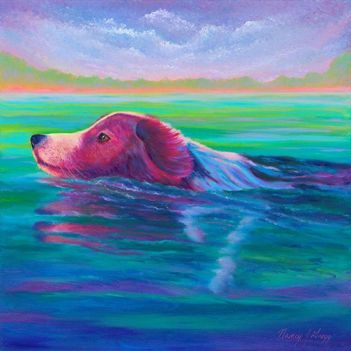 Keep Your Head UP - Nancy Gregg Fine Art