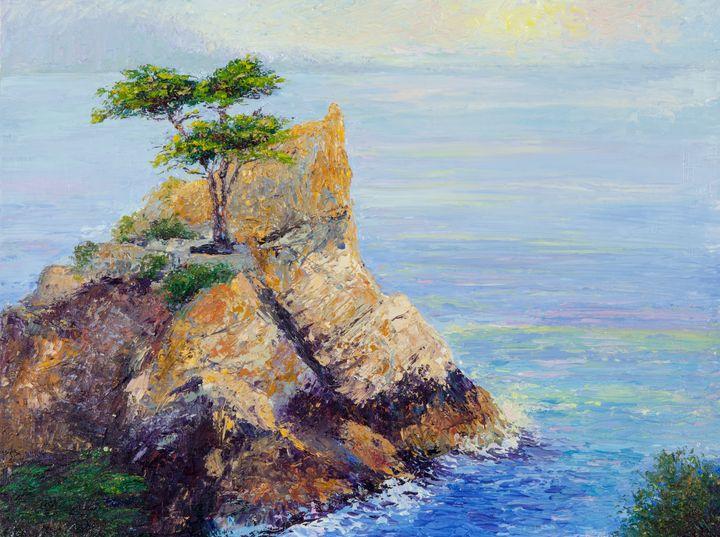 Lone Cypress at Monterey - Nancy Gregg Fine Art
