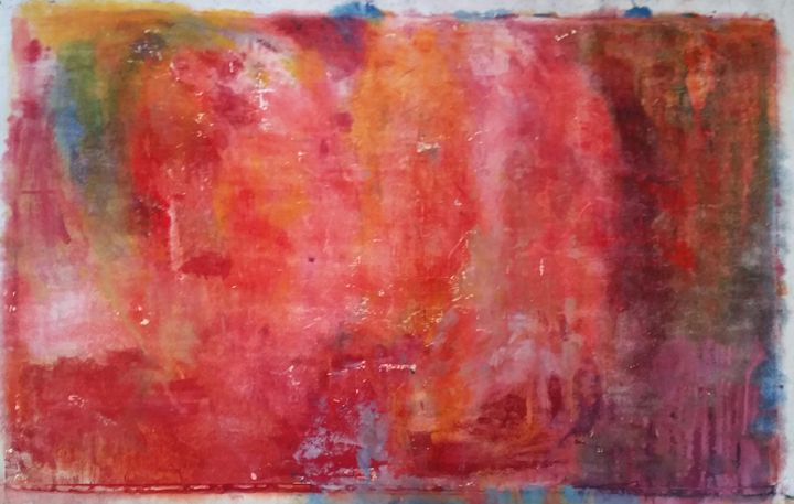 Isabella Reversed - Beverly Karnell - Expressionist Art