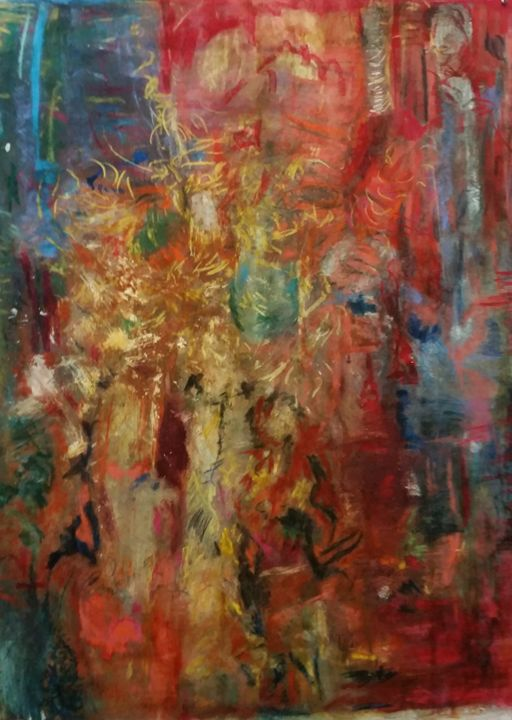 Oscar Night - Beverly Karnell - Expressionist Art