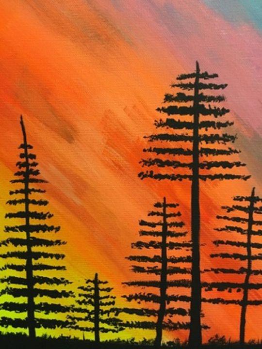 black trees - laurb