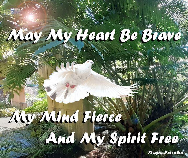 Dove in the Fern house - Stasia Petralia - Naturopath